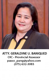 atty. baniqued-OIC assessor