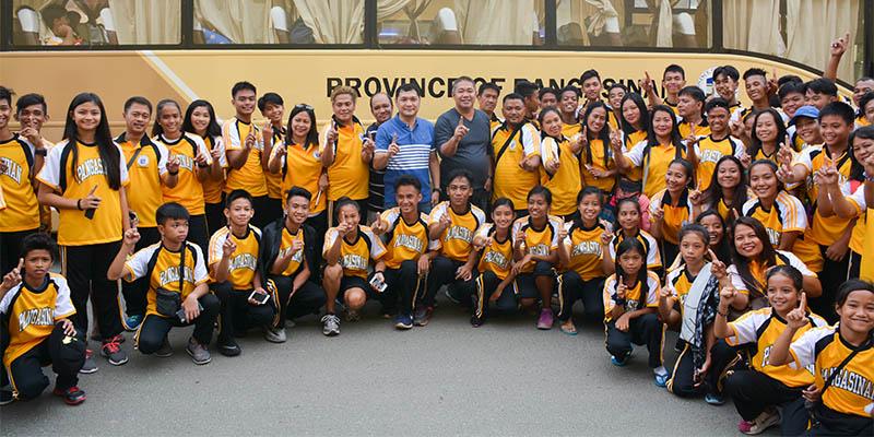batang pinoy send-off