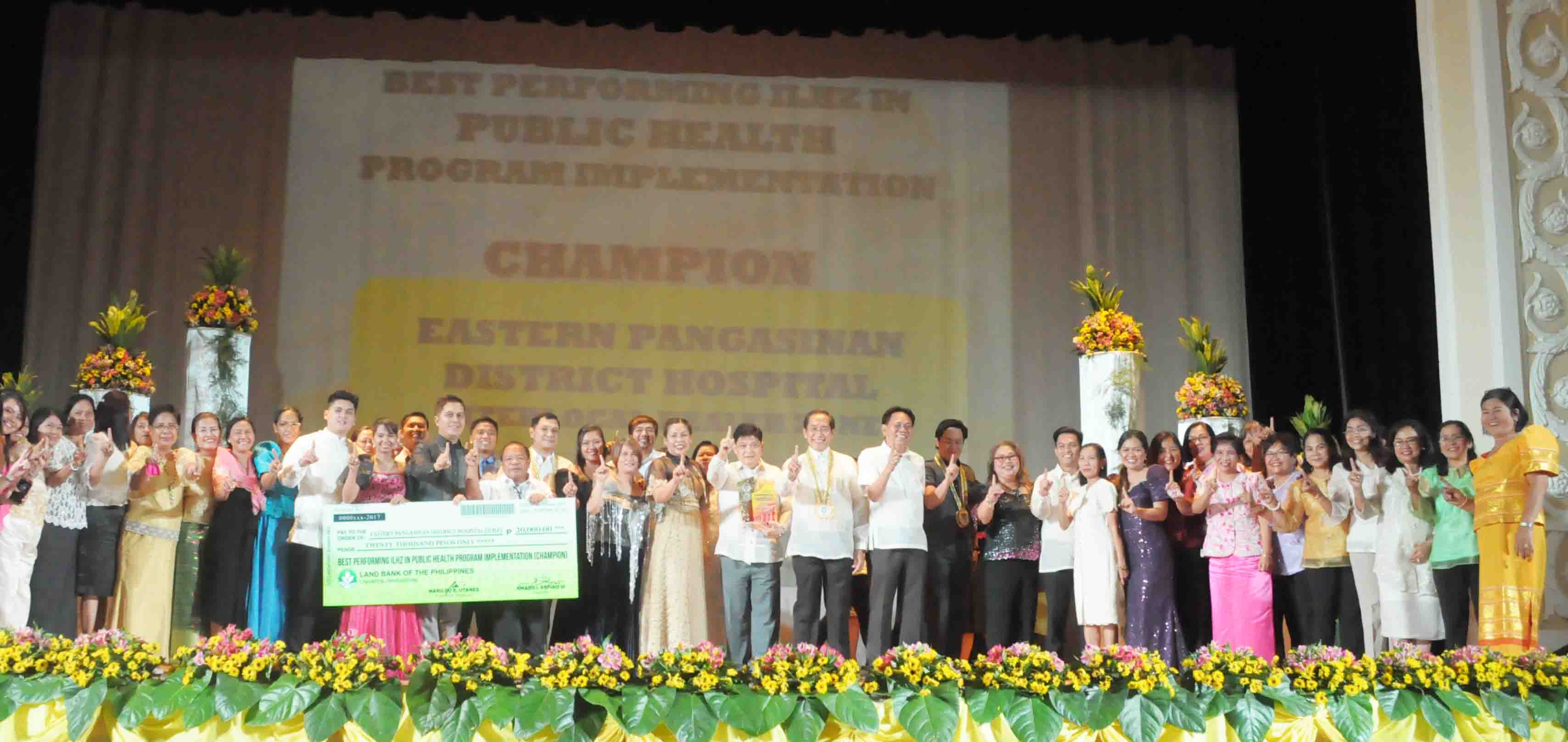 best performing ILHZ in public health