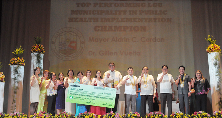 top performing municipality in health implementation