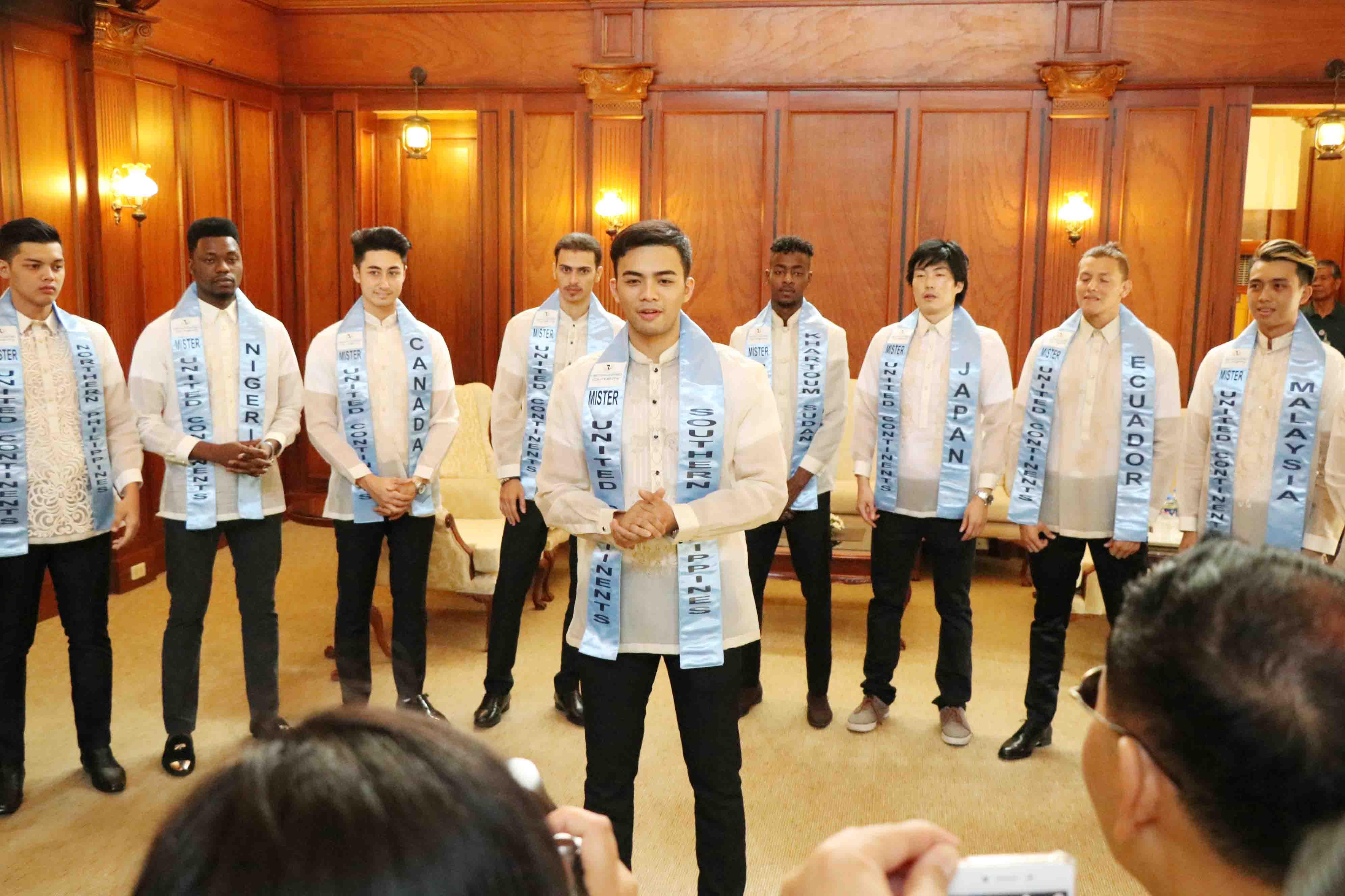 Mr. United Continents visit at the Capitol_1