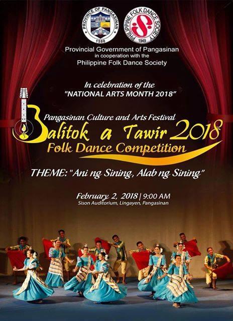 Balitok-a-Tawir 2018 Folk Dance Competition