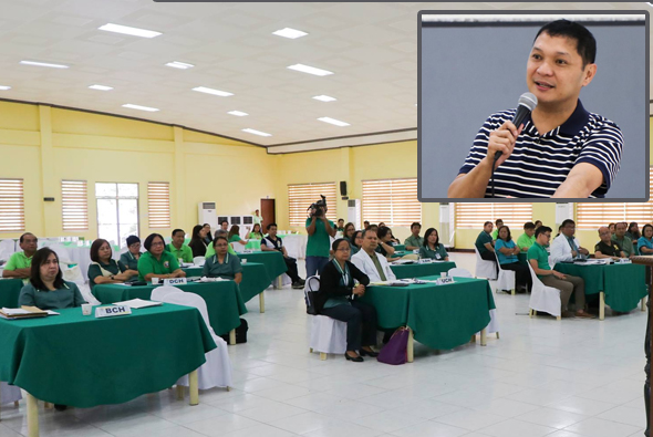 Gov. Espino discusses manpower upgrade of all 14 hospitals with the doctors