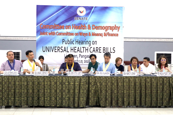 P'sinan supports passage of Universal Health Care Bill | The Official Website of the Province of ...