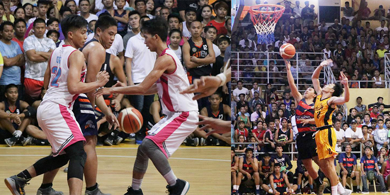 Teams Lingayen and Manaoag will vie for basketball tournament finals