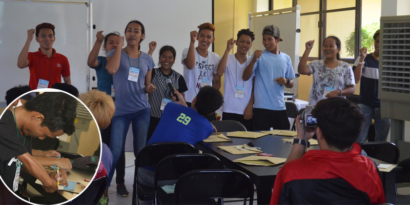 Thirty six Out-of-School Youth, including some In-School Youth, and Person With Disabilities from Anda town comprise the first batch of young people who are undergoing  leadership training, personality development, and enrichment activities at the Pangasinan Reformation Center in Burgos town.