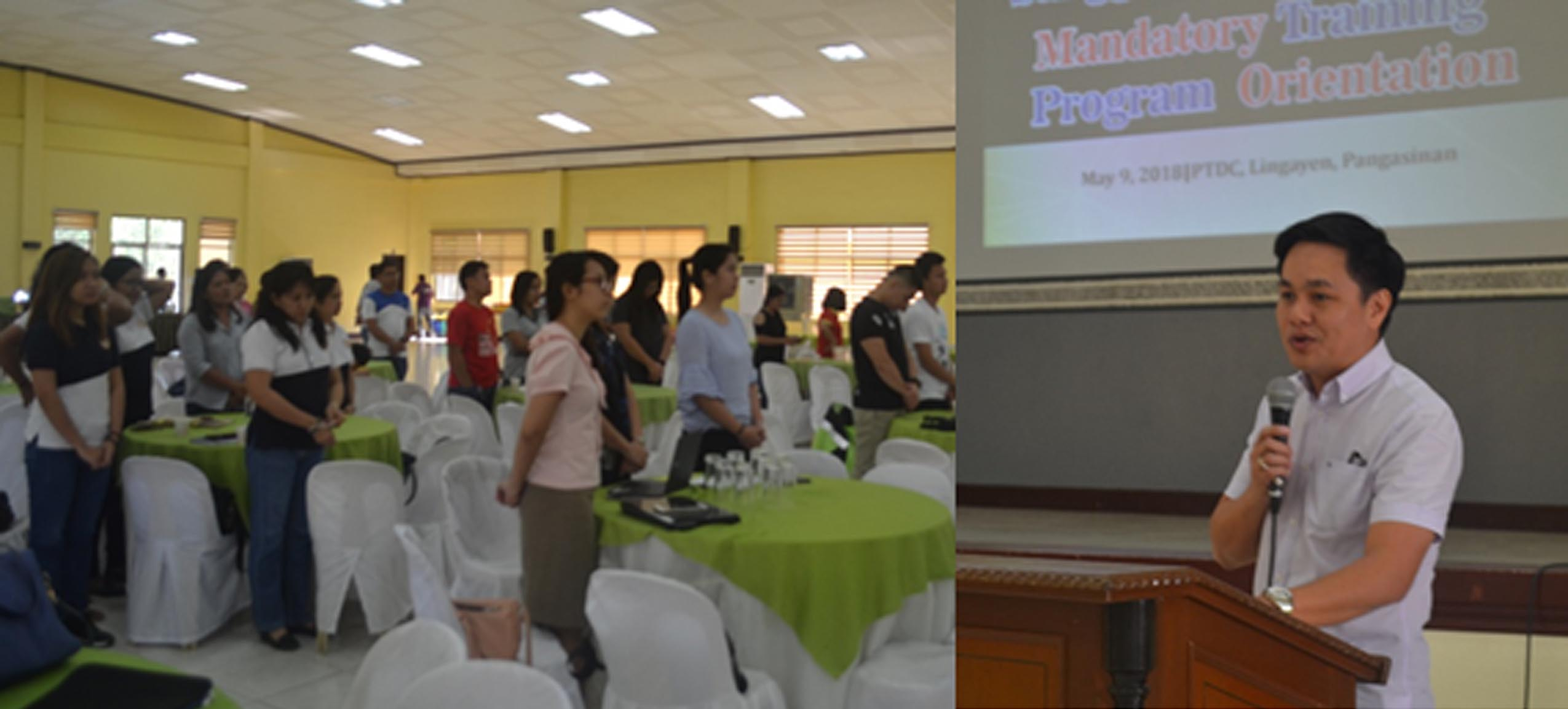 PA CAMBA WELCOMES PARTICIPANTS OF MANDATORY SK TRAINING
