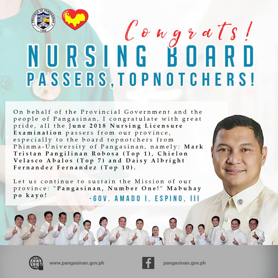 congrats board topnotchers