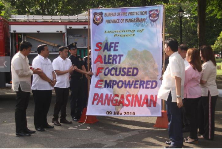 SAFE Pangasinan project launching