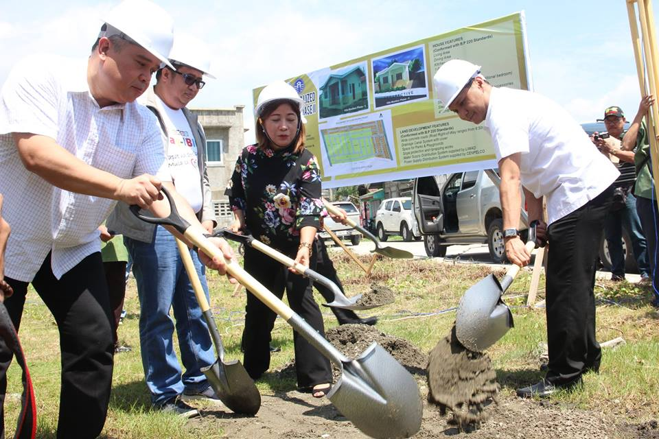 Disclaimer: Gov. Espino Leads Villa Maniboc Housing Project-Phase II