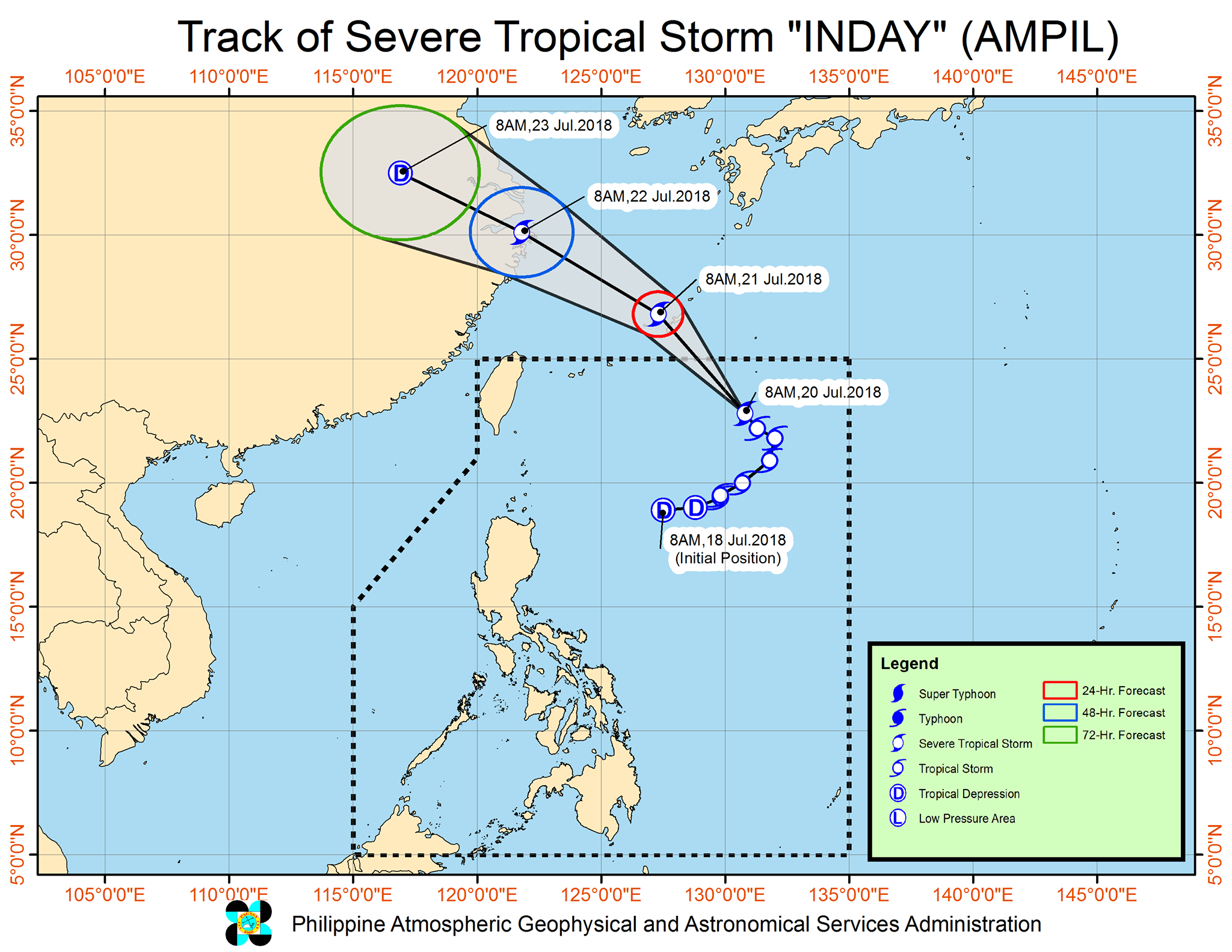 severe tropical storm inday 2
