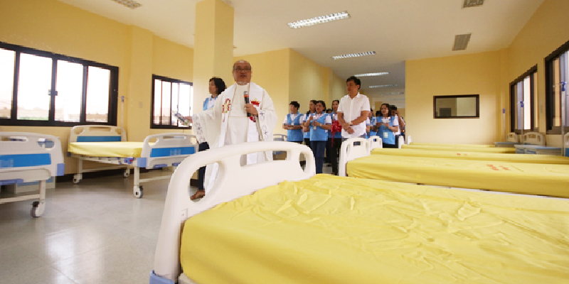 blessing of lingayen pediatric ward