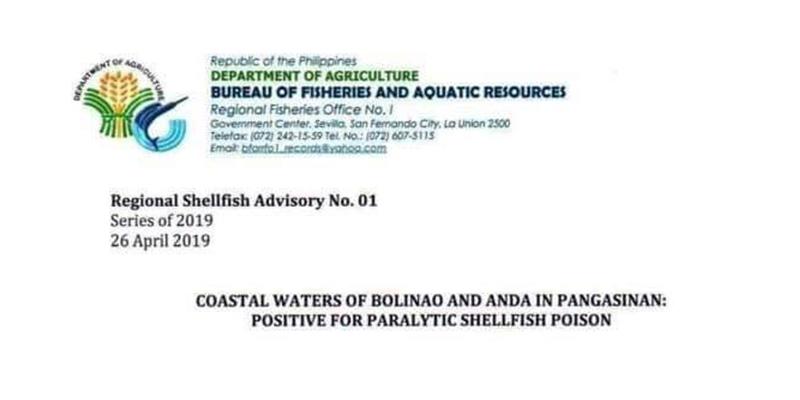 shellfish advisory 2