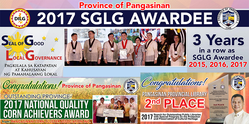 pangasinan's latest awards in 4th quarter